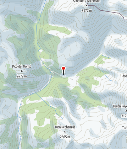 Karte / Refugio de Biadós
