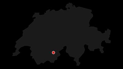 Cartina / Panorama-Winterwanderweg Moosalp