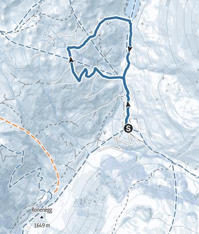 Karte / Rundtour Rätikonblick