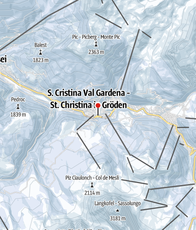 Map / Val Gardena SuperPremière