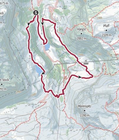 Karte / Rund ums Sahli