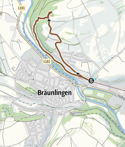 Karte / Schellenberg-Trail