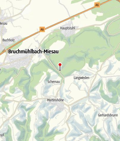 Karte / Fritz-Claus-Hütte