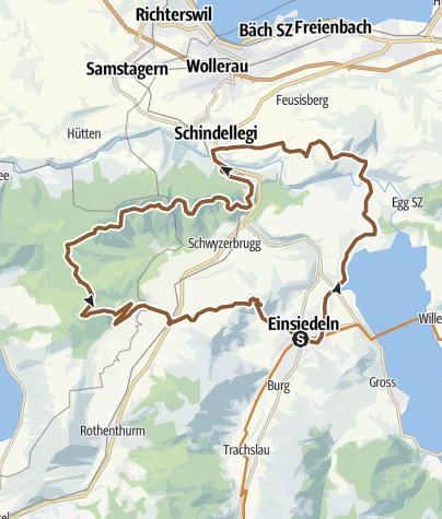Karte / Höhronen-Tour