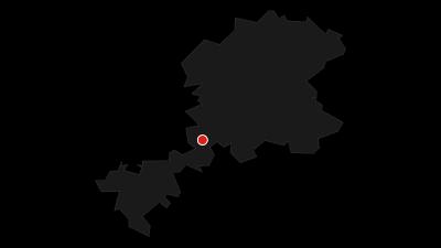 Karte / Lahnwanderweg 12. Etappe flussaufwärts Weilburg - Braunfels