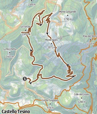 Cartina / TBK Agaro 2305