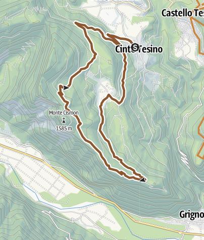 Cartina / TBK Monte Mezza 2309