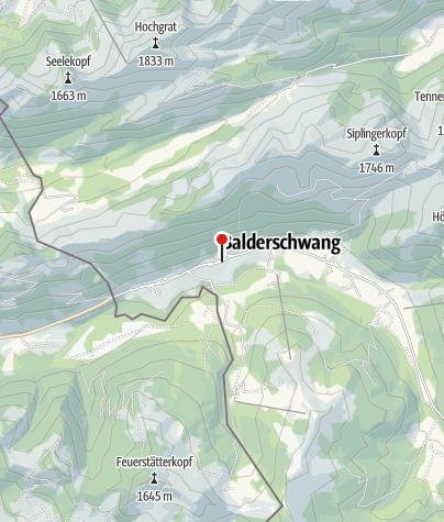 Karte / Schneesportschule SnowPlus - Balderschwang