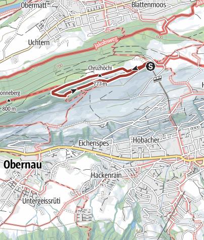 Map / Zwergenweg auf dem Sonnenberg