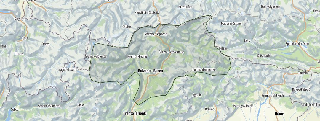 Karte / Südtirol