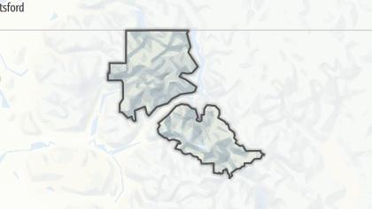 Mapa / North Cascades National Park