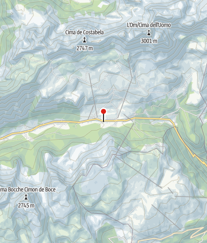 Map / Hotel Monzoni