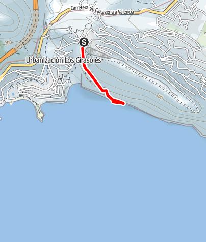 Map / Magical Mystery Tour, Sierra de Toix (Costa Blanca)