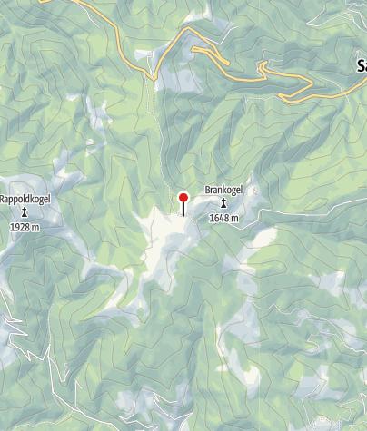Karte / Bogenparcours Altes Almhaus