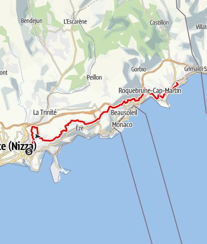Map / Grand Corniche