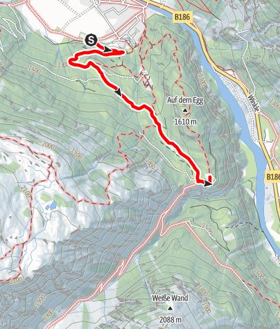 Karte / Alpengasthof Feuerstein - Längenfeld/Huben