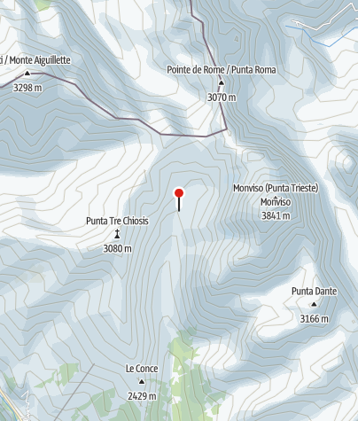 Map / Rifugio (Berghütte) Vallanta