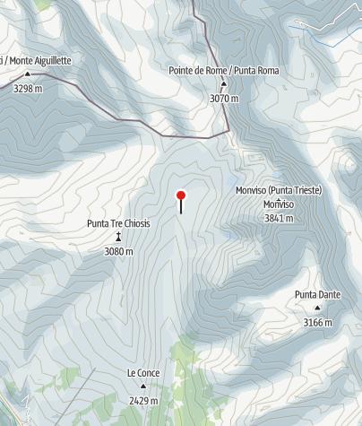 Karte / Rifugio (Berghütte) Vallanta