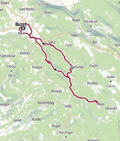 Map / Hum Loop Walk
