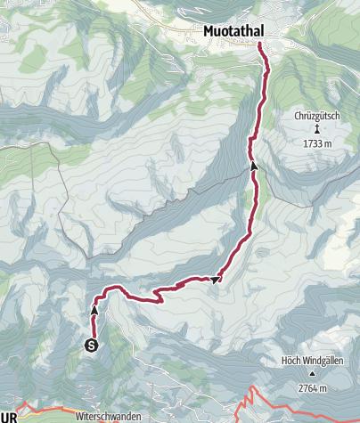 Karte / ViaSuworow