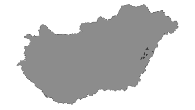 Map / Bihari-sík Tájvédelmi Körzet