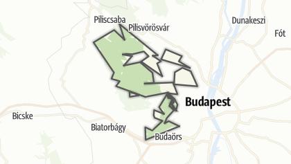 Mapa / Budai Tájvédelmi Körzet