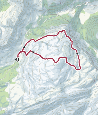 Karte / Karstspur Silberen