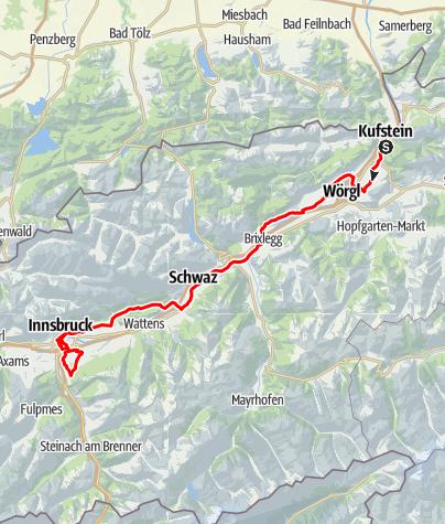 Karte / UCI Straßenrad WM 2018 Straßenrennen - Junioren