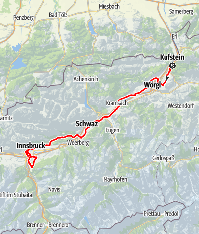 Karte / UCI Straßenrad WM 20189 Straßenrennen - Herren U-23