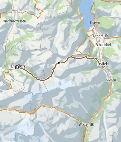 Carte / Biketour Surenenpass