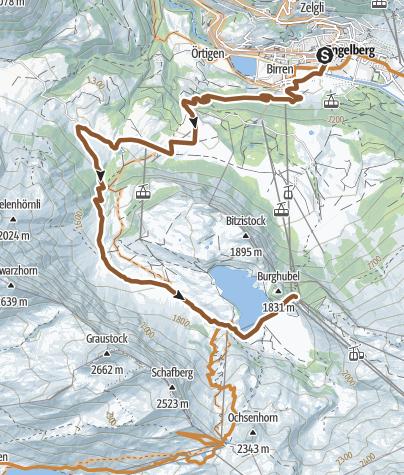 Carte / Trübsee Engelberg