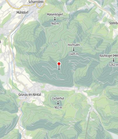Karte / Jagdhütte  ~1105m