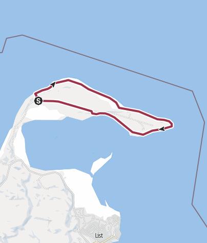 Karte / Große Ellenbogen-Runde