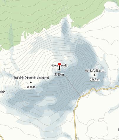 Karte / Teide-Nationalpark