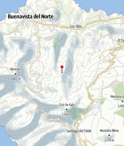 Map / Teno-Gebirge