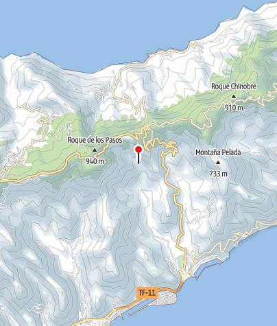 Karte / Anaga-Gebirge