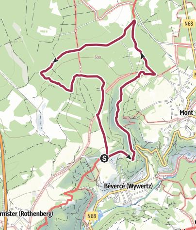 Map / Im wilden Trôs-Marets-Tal