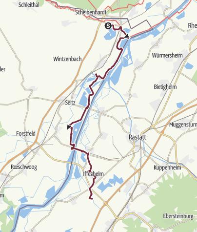 Map / Scheibenhardt - Römerhütte (day 57)
