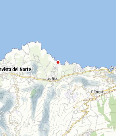 Karte / Teneriffas landschaftliche Höhepunkte