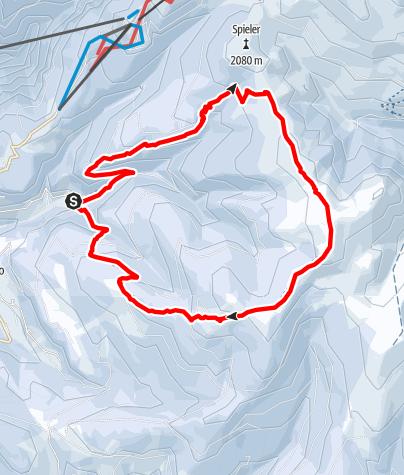 Karte / Haflinger Panoramarunde