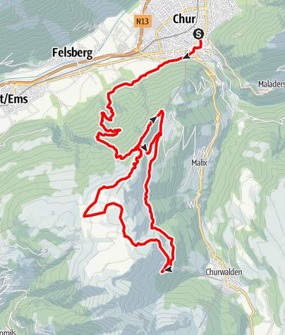 Karte / Long Trail LANGA