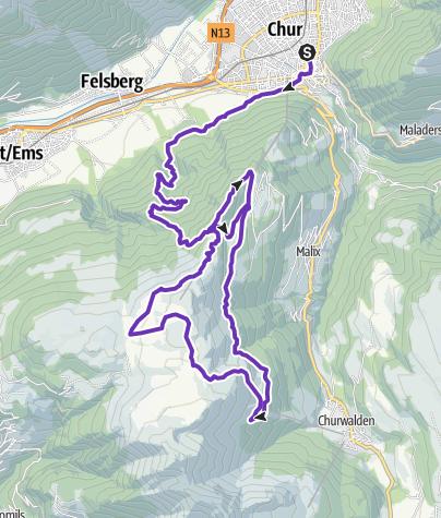 Long Trail LANGA • Trail Running » outdooractive.com