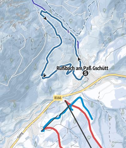 מפה / Russbach: Sonnseit´nweg