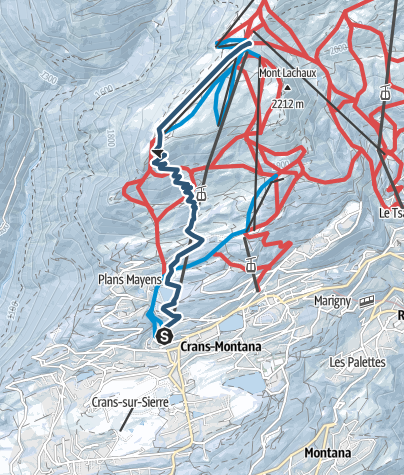 Carte / 2. La Ligne Bleue (rouge)