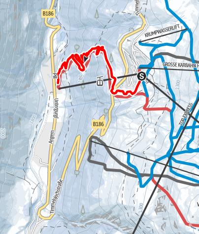 Map / Obergurgl-Hochgurgl - Hochgurgl-Pill