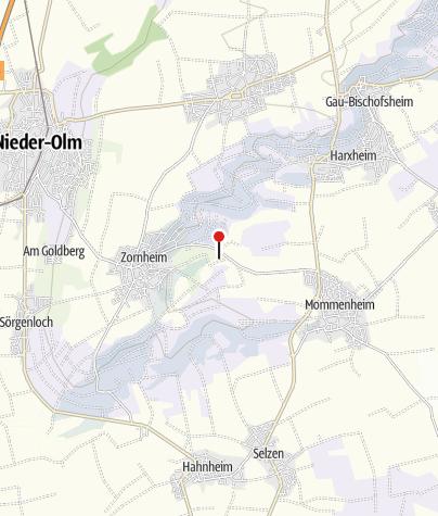 Karte / Biotop Rohrwiesen