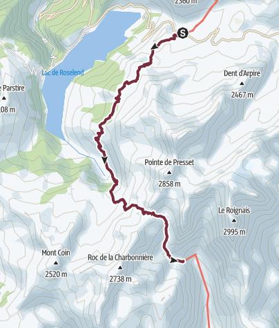 Map / GR®5 Alpes - Du refuge du Plan de la Lai au refuge de la Balme (11)