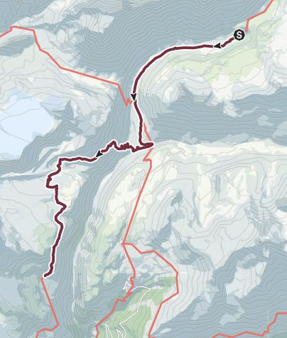 Map / GR®5 Alpes - Du refuge de la Leisse au refuge de l'Arpont (15)