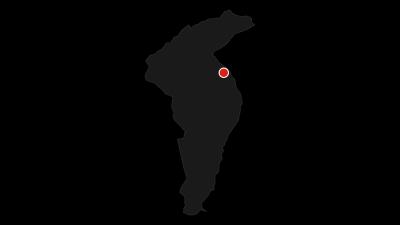 Karte / Rund um den Tseuzier Stausee