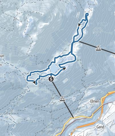 Karte / Schneeschuhtrail 882: Arnisee